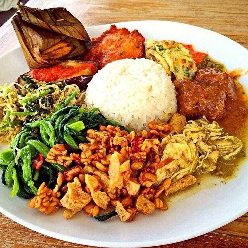 delicious food Bali