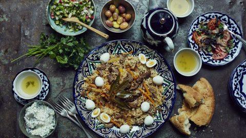 Typical food, dishes, gastronomy of Uzbekistan